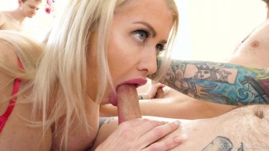 Katie Monroe blows her stepson's friends