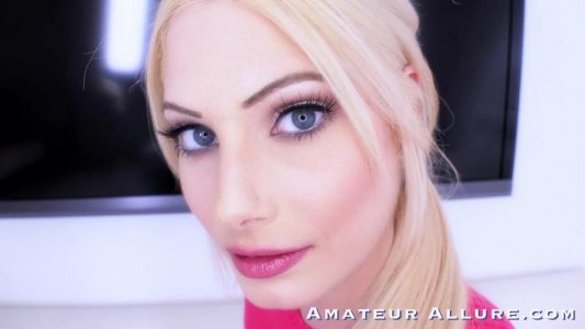 Nella Jones swallows every drop of his cum after sex