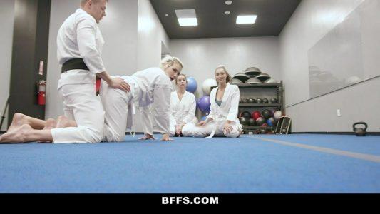 Karate class turns into a wild orgy