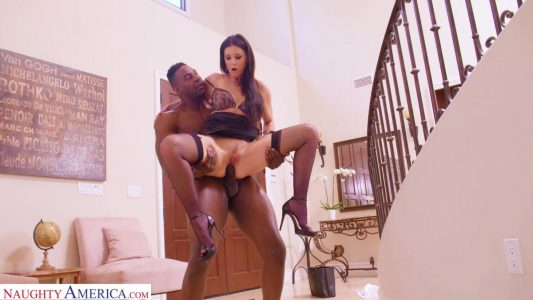 India Summer knows how to satisfy a big black cock